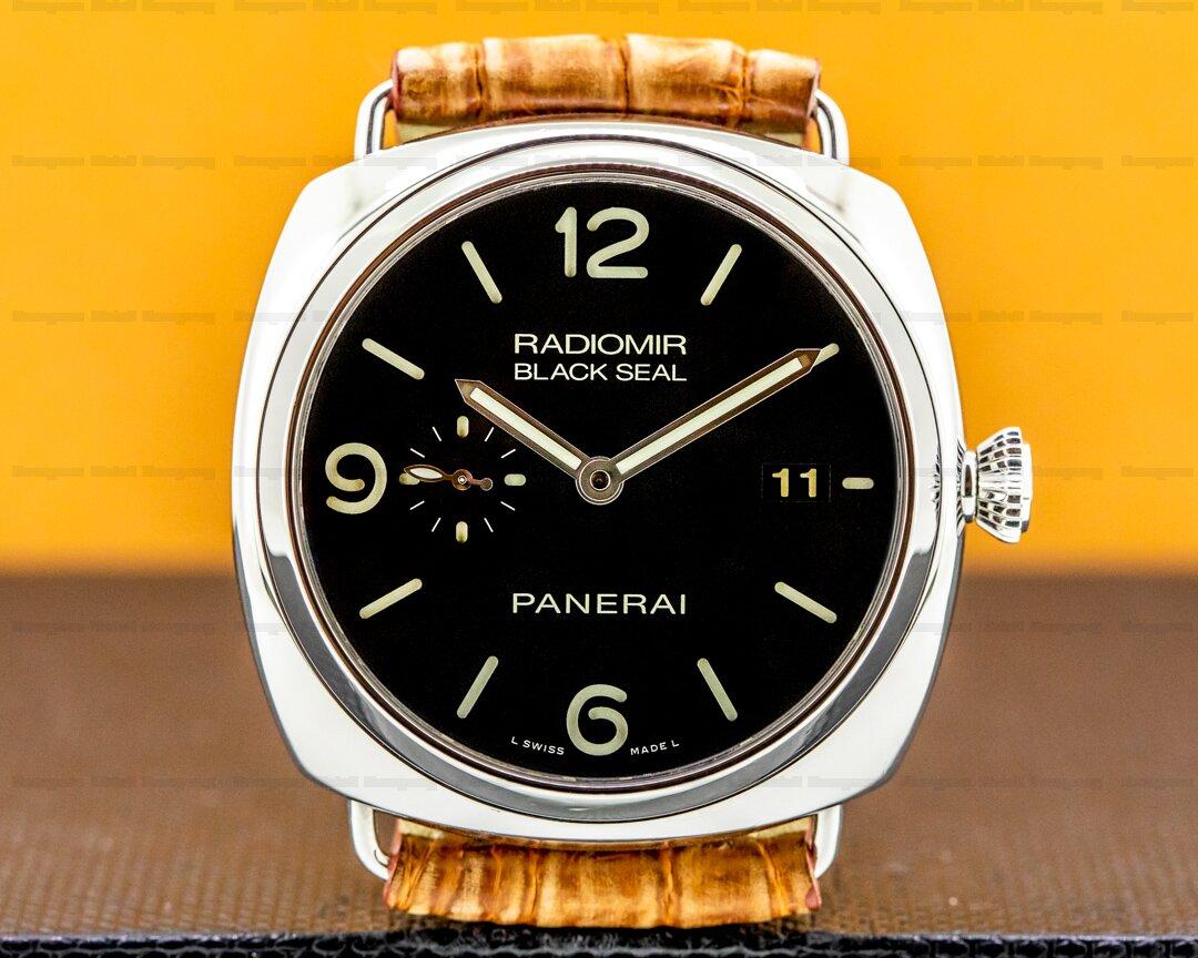 Panerai Radiomir BLACK SEAL Automatic SS Ref. PAM388