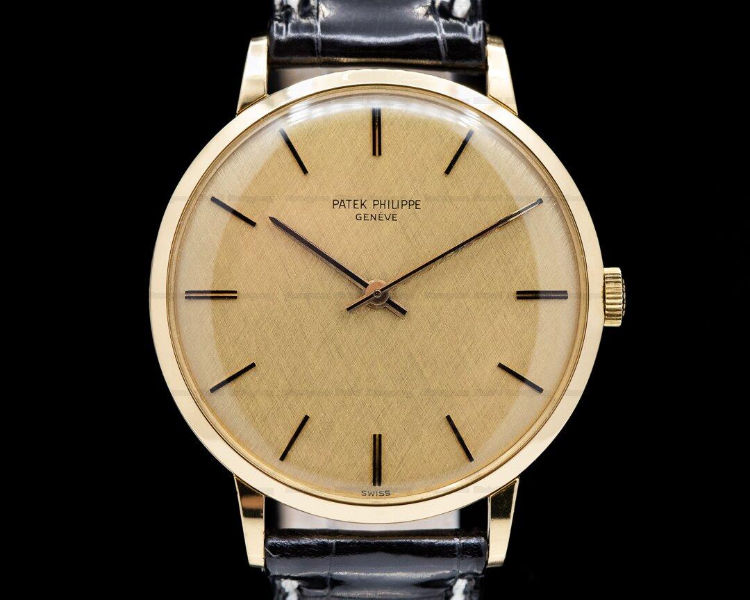 Patek Philippe Vintage 3468 Manual Wind 18k Yellow Gold 1969 Ref. 3468