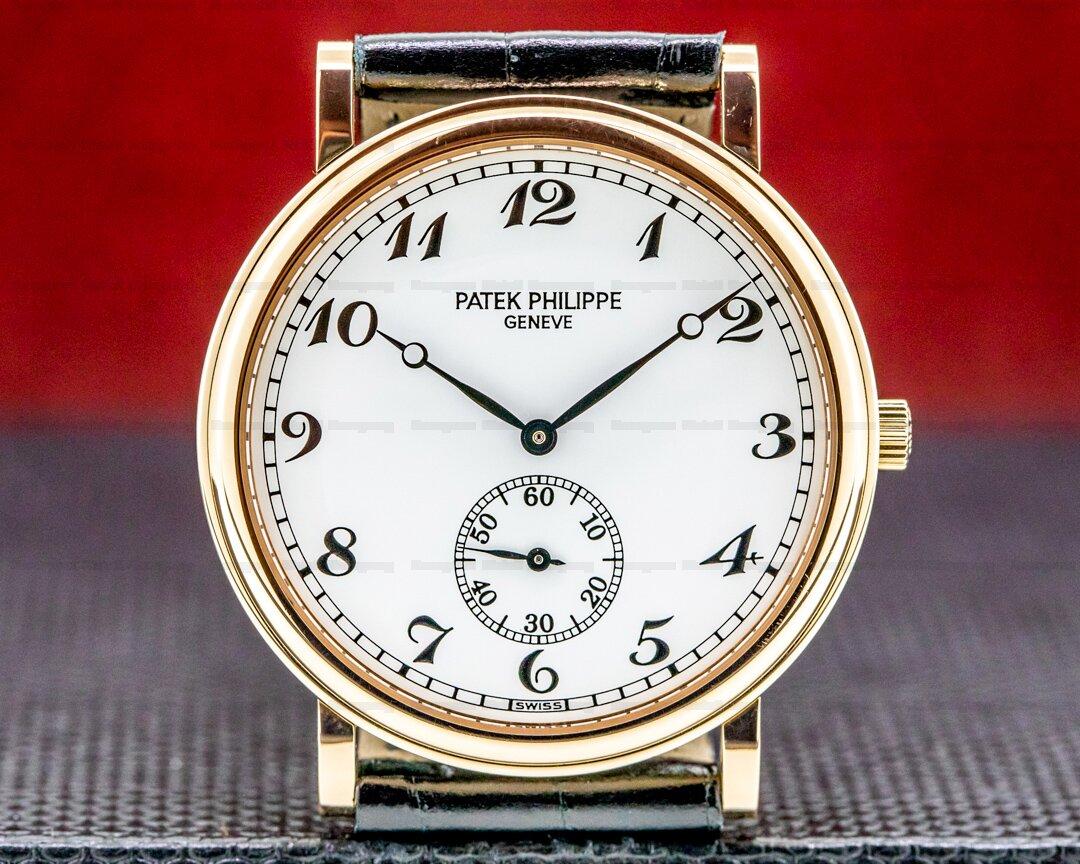 Patek Philippe Calatrava 5022R White Dial Arabic Numerals Ref. 5022R