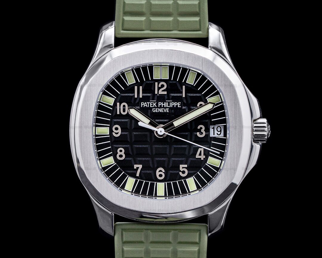 Patek Philippe Aquanaut Automatic 5065A Black Dial SS PATEK SERVICE Ref. 5065A-001