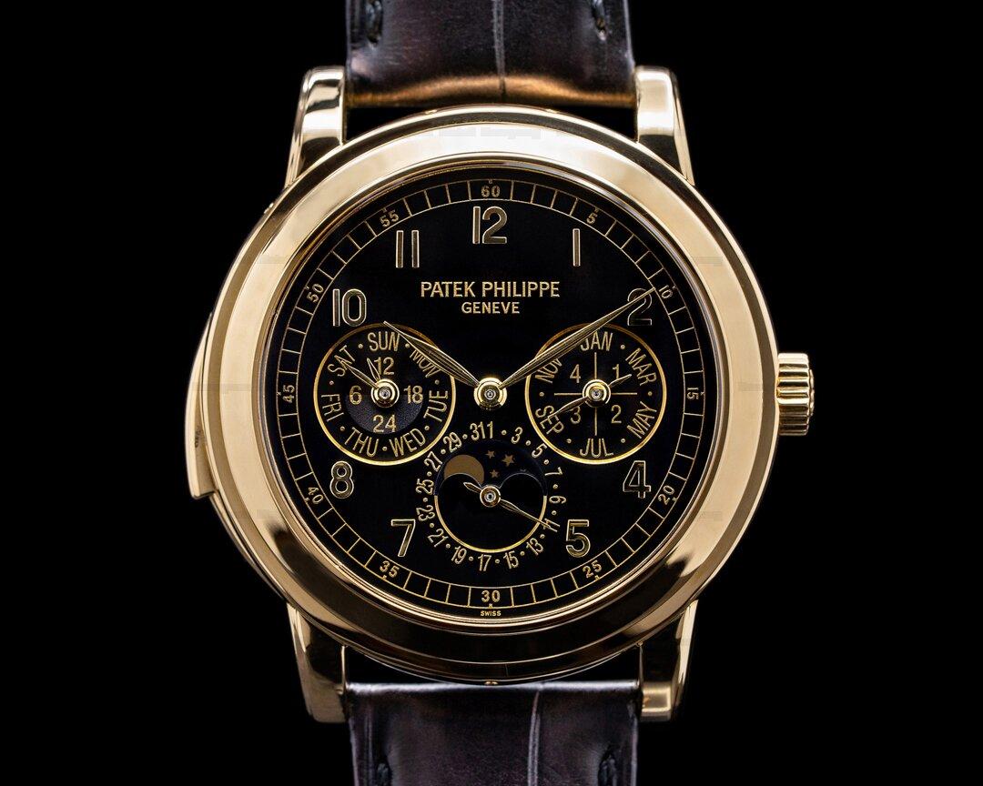 Patek Philippe 5074J Grand Complication Minute Repeater Perpetual 18K YG Black Dial RAR Ref. 5074J-001