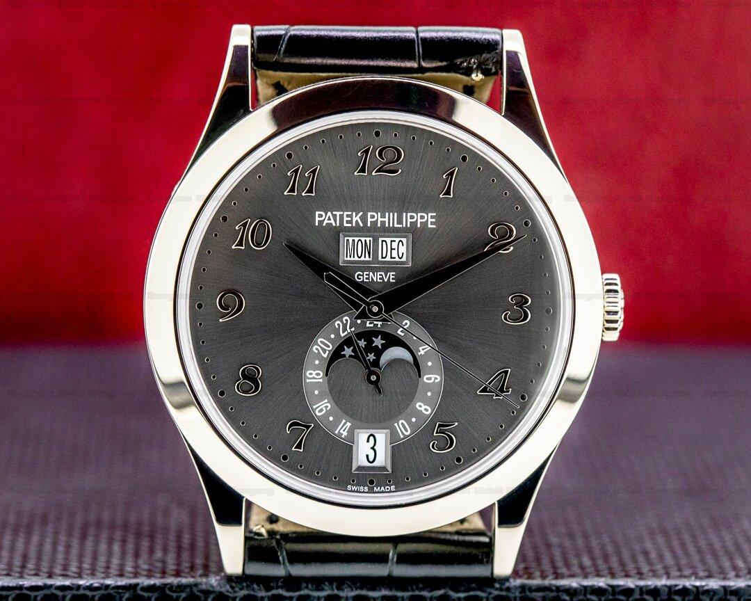 Patek Philippe Annual Calendar Anthracite Dial 18K White Gold 2020 Ref. 5396G-014