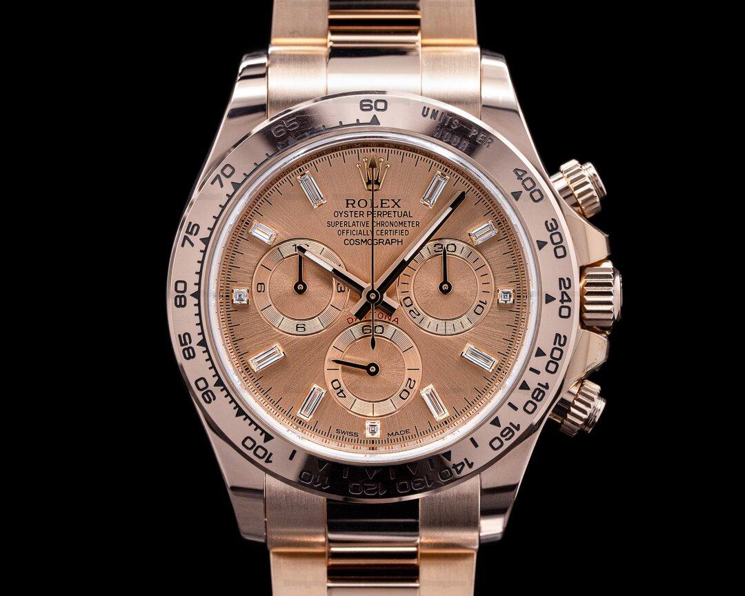 Rolex Daytona Everose 116505 / Sundust Diamond Dial 2021 Ref. 116505