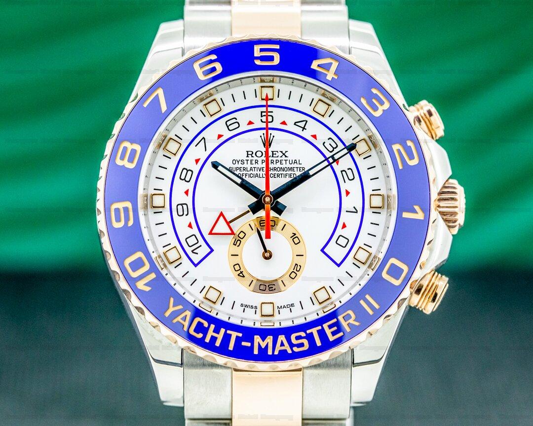 Rolex Yacht Master II 116681 SS / 18K Rose Ref. 116681