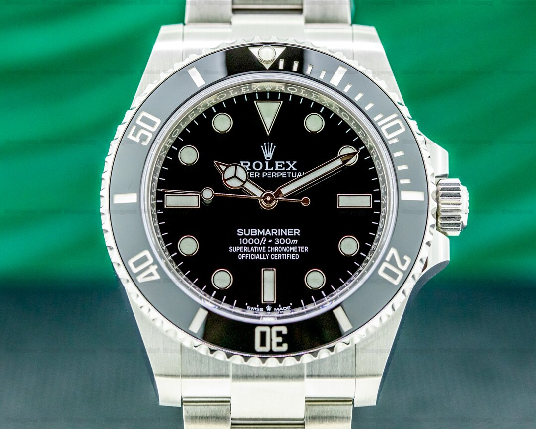 Rolex Submariner 124060 No Date Ceramic Bezel 41MM 2021 UNWORN Ref. 124060