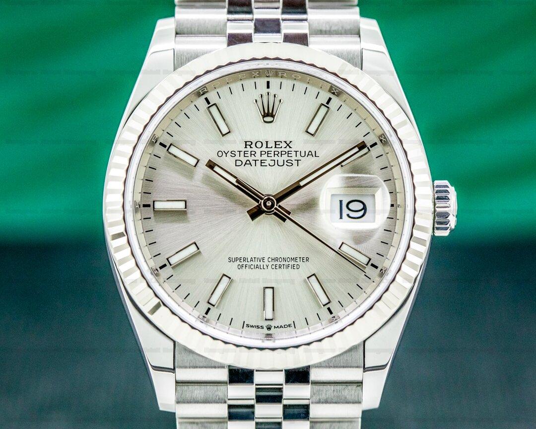 Rolex Datejust Silver Dial / Jubilee Bracelet 2020 Ref. 126234