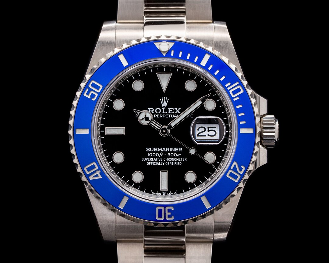Rolex Submariner Date 126619 18K White Gold Blue Bezel 2021 Ref. 126619LB