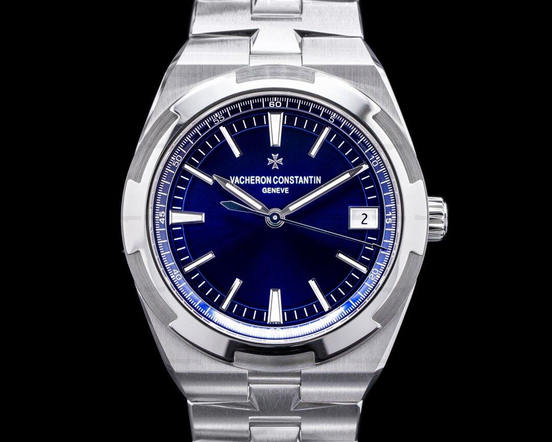 Vacheron Constantin Overseas 4500v Automatic 41mm Blue Dial SS UNWORN 2021 Ref. 4500v/110A-B128