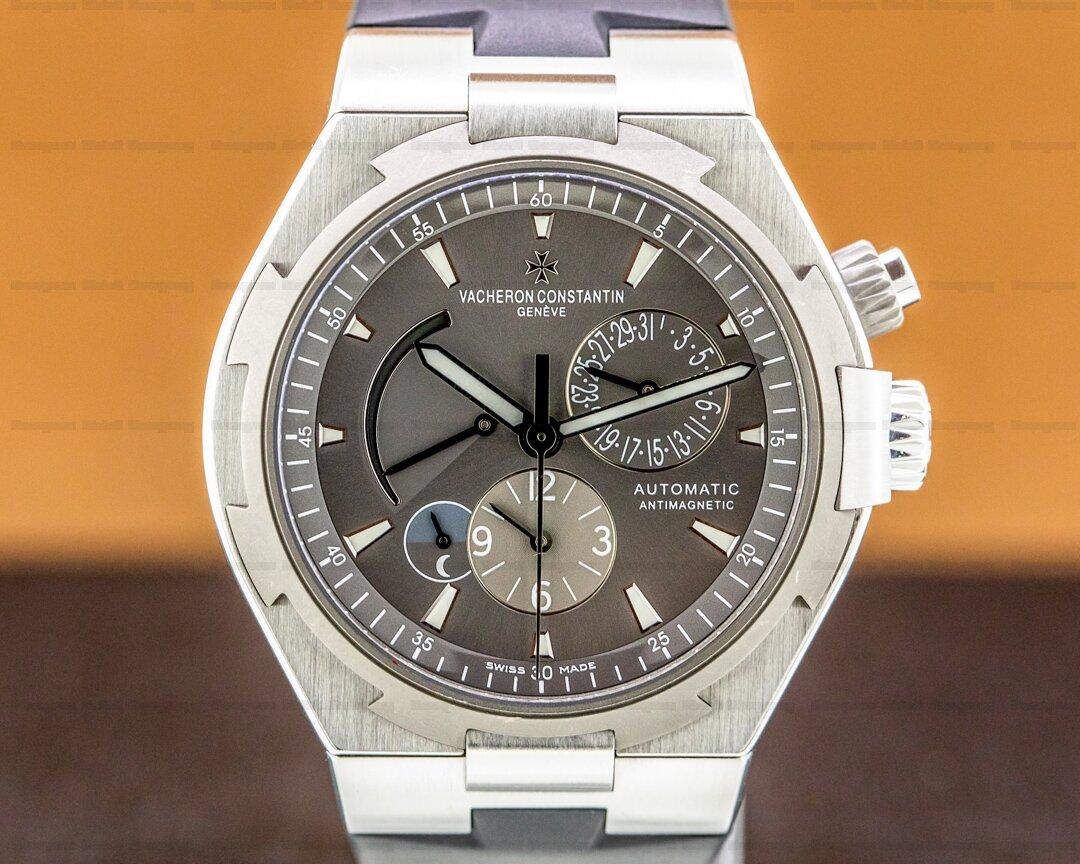 Vacheron Constantin Overseas Dual Time 47450 SS Grey Dial Ref. 47450/000W-9511