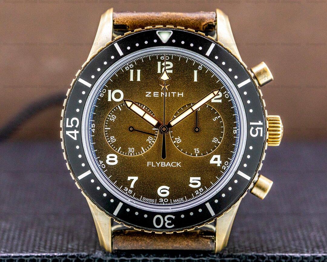 Zenith Pilot Cronometro Tipo CP-2 Flyback Bronze Ref. 29.2240.405/18.C801