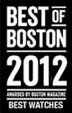 European Watch Co. Best of Boston 2012