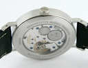 Nomos Tangente Steel w/ power reserve, Anthracite dial Ref.