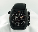 Bell &Ross BR 02-94 Carbon Chronograph Ref. BR-02-94-CAR