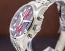 IWC Pilot Spitfire Chronograph SS Grey / Red Dial LIMITED Ref. IW387810