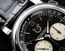 A. Lange and Sohne Double Split 404.035 Black Dial Platinum Ref. 404.035