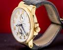 Ulysse Nardin Maxi Marine 266-66 Chronometer Silver Arabic 18K RG / Alligator Ref. 266-66