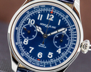 Montblanc 1858 Monopusher Chronograph Tachymeter Blue Dial Ref. 114086
