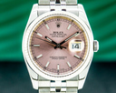 Rolex Datejust 116234 SS Jubilee Pink Stick Dial 36MM Ref. 116234
