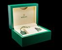 Rolex Oyster Perpetual DOMINOS PIZZA Silver Dial UNWORN RARE Ref. 116000 DOMINOS