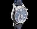 Patek Philippe Annual Calendar 5960P Chronograph Platinum Blue Dial Ref. 5960P-015