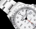 Rolex Explorer II Polar 16570 White Dial SS Ref. 16570