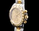 Rolex Daytona Champagne Dial 18K Yellow Gold / SS FULL SET VERY SHARP SERVICED Ref. 116523