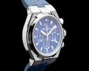 Vacheron Constantin Overseas 49150 Chronograph Blue Dial SS FULL SET Ref. 49150/000A-9745