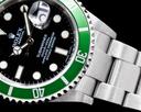 Rolex Submariner 50th Anniversary Kermit SS Green Bezel FULL SET Ref. 16610LV