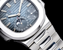 Patek Philippe Jumbo Nautilus 5712 Moonphase Power Reserve SS FULL SET Ref. 5712/1A-001