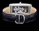 Cartier Tank Cintree WHTA0009 Skeleton Platinum LIMITED RARE Ref. WHTA0009