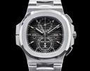 Patek Philippe Nautilus 5990 TIFFANY & CO Travel Time Chronograph GMT FULL SET Ref. 5990/1A-001 TIFFANY