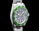 Rolex Submariner 50th Anniversary Kermit SS Green Bezel Ref. 16610LV