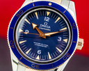 Omega Omega SeaMaster 300M Master Co-Axial 41mm Automatic Blue Dial Titanium 1 Ref. 233.60.41.21.03.001