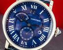 Cartier Rotonde Second Time Zone Day/Night White Gold Limited to 200 Examples Ref. W1556241