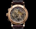 A. Lange and Sohne 1815 Flyback 414.031 Chronograph Black Dial 18K Rose Gold Ref. 414.031