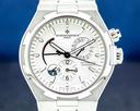 Vacheron Constantin Overseas Dual Time Silver Dial / Bracelet FULL SET Ref. 47450/B01A-9226