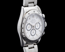 Rolex Daytona SS White Dial Zenith Movement INVERTED 6 BOX and PAPER Ref. 16520
