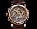 A. Lange and Sohne Datograph 403.032 Flyback 18K Rose Gold FULL SET Ref. 403.032