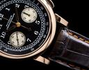 A. Lange and Sohne 1815 Flyback Chronograph Black Dial 18K Rose Gold Ref. 401.031