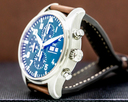 IWC Flieger Pilot Chronograph SS Green dial Limited Edition Ref. IW377726