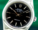 Rolex Air King Black Dial SS Ref. 14000M