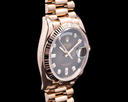 Rolex Day Date President 128235 Brown Ombre Fume Diamond Dial 2019 Ref. 128235
