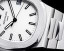 Patek Philippe Jumbo Nautilus 5711 White Dial SS FULL SET Ref. 5711/1A-011