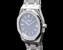 Audemars Piguet Royal Oak 15202ST Jumbo Extra Thin Blue Dial SS DISCONTINUED Ref. 15202ST.OO.0944ST.03