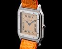 Cartier Santos Dumont 1575-1 Platinum 90th Anniversary RARE Ref. 1575-1