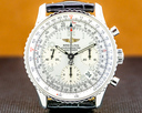 Breitling Navitimer Chronograph SS Silver Dial Ref. A23322