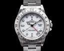 Rolex Explorer II Polar 16570 White Dial SS 1996 FULL SET NICE Ref. 16570
