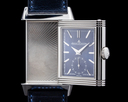 Jaeger LeCoultre Reverso Tribute Small Seconds SS Blue Dial Ref. Q3978480