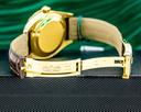 Rolex Sky Dweller Silver Dial 18k Yellow Gold / Alligator Ref. 326138
