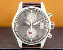IWC Pilot Spitfire Chronograph SS Silver Dial LIMITED Ref. IW387809
